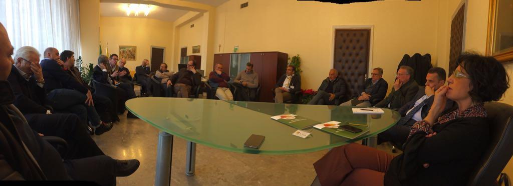 Incontro Distretto Agrumi-Assessore Bandiera