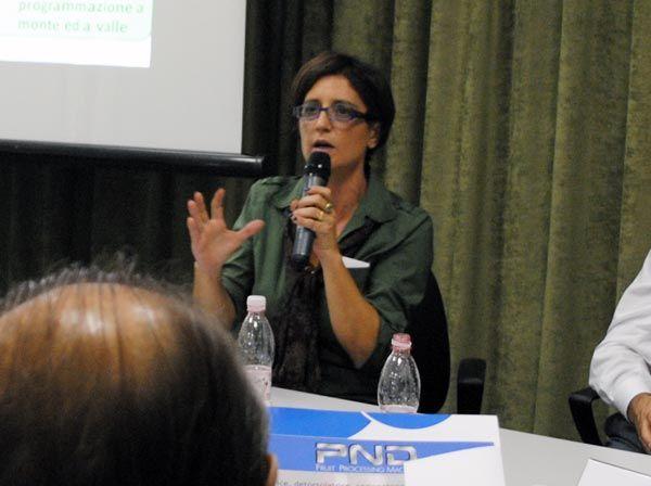 La dott.ssa Federica Argentati, Presidente del Distretto Produttivo Agrumi di Sicilia