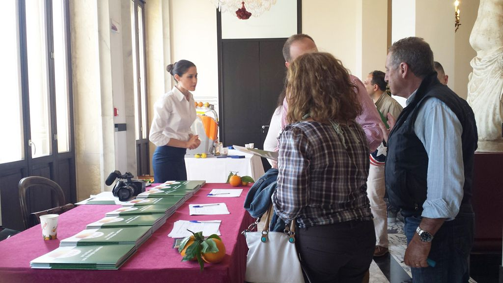 28/05/2015 - Workshop 'The fruits of health' in Syracuse
