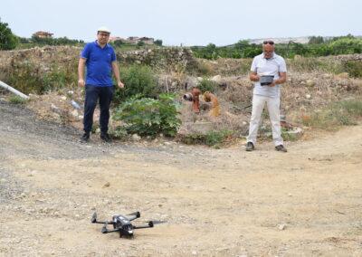 Volo drone- Ribera