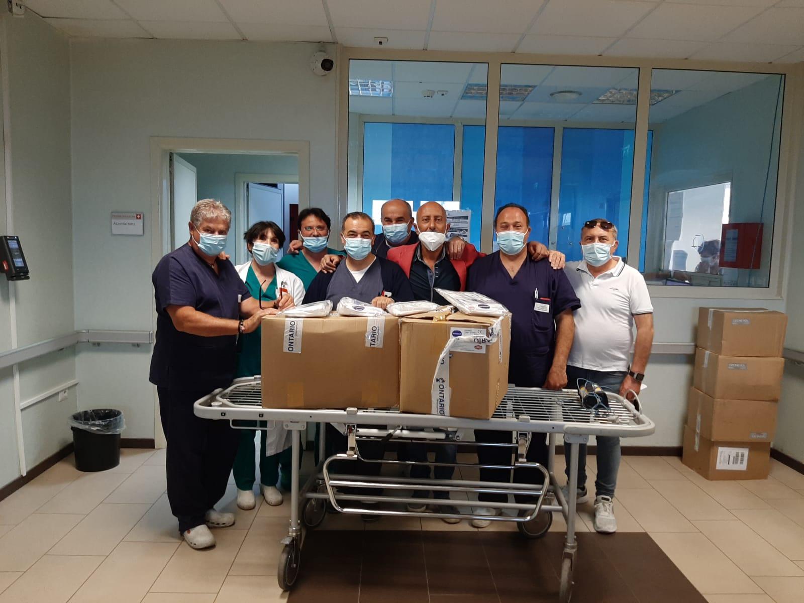 10/06/2020 - Donazioni ospedaliere COVID-19