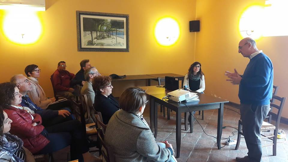 "27/05/2018 - Seminar on ""Social farming and social inclusion techniques"" - Caltagirone (CT)"