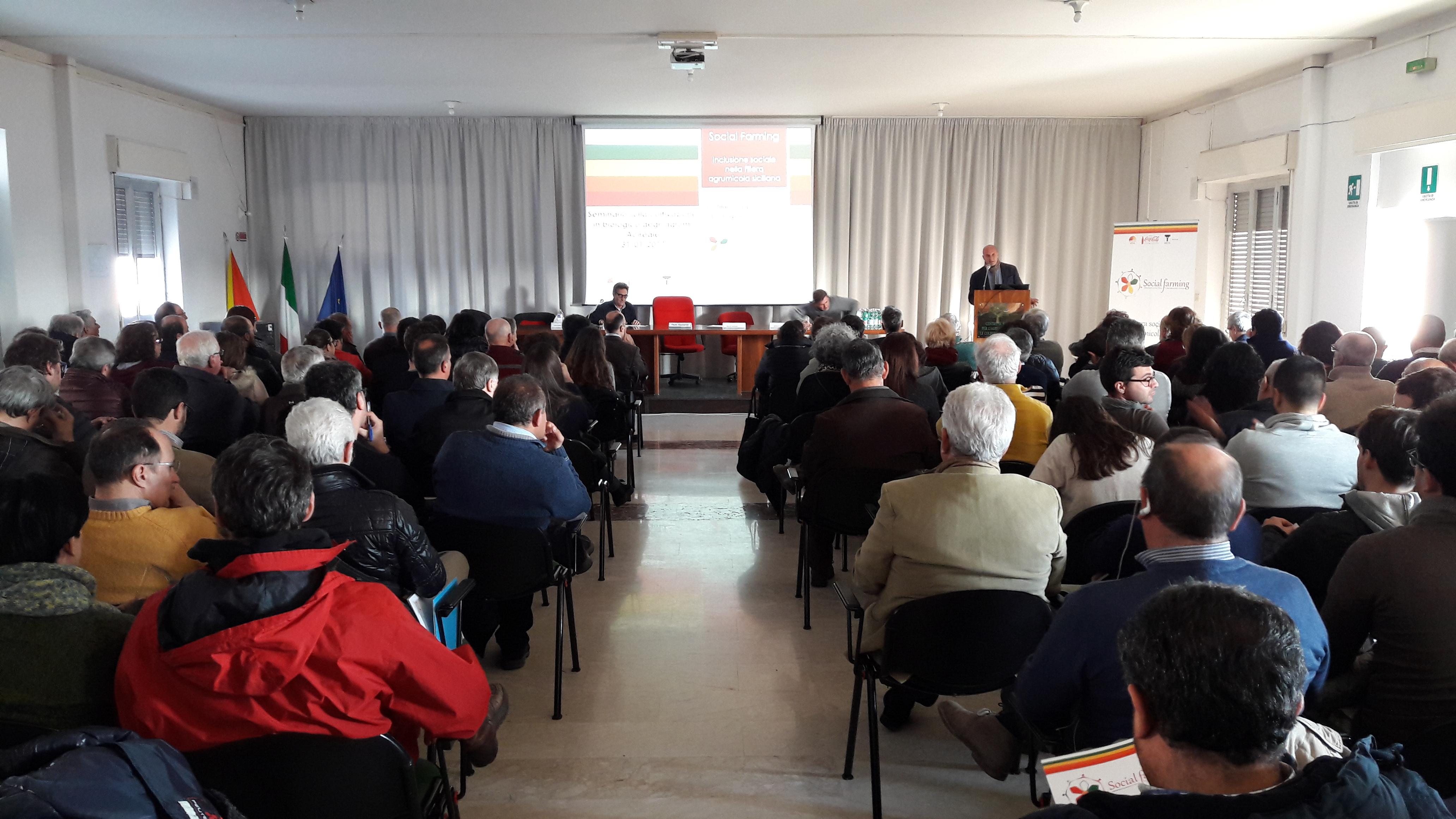 01/02/2017 - Seminario 'Agrumi Bio Sicilia'