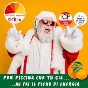 Babbo Natale felice