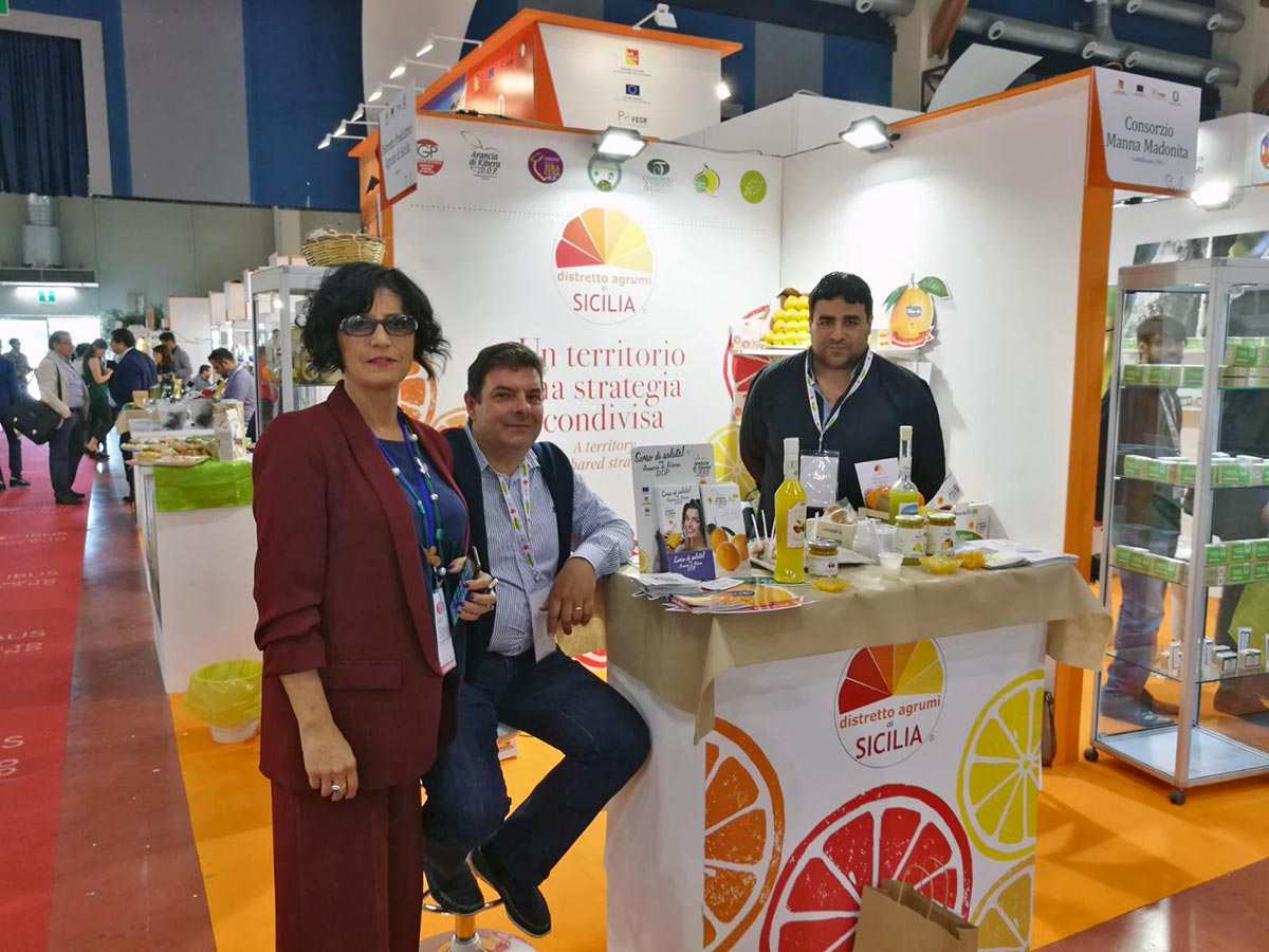 07/05/2018 - CIBUS 2018 in Parma - District Citrus Stand of Sicily