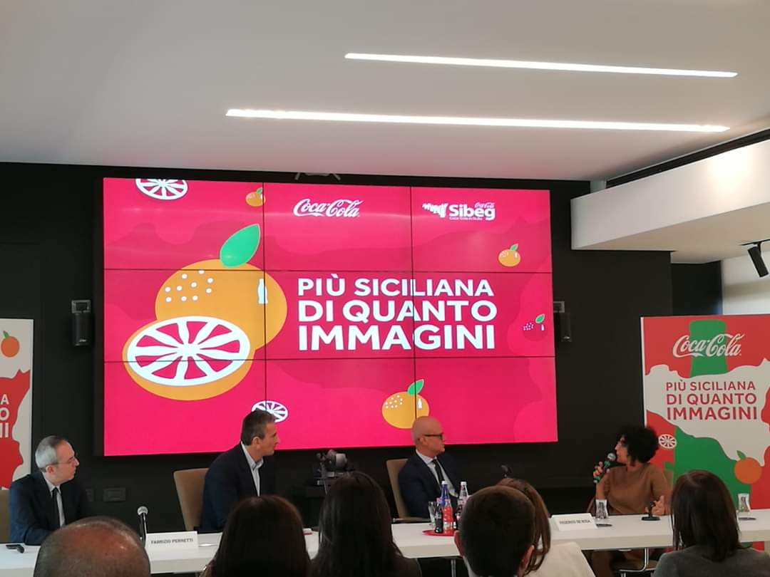 18/11/2019 - Presentation in Catania of the report on the socio-economic impact of Coca-Cola in Sicily