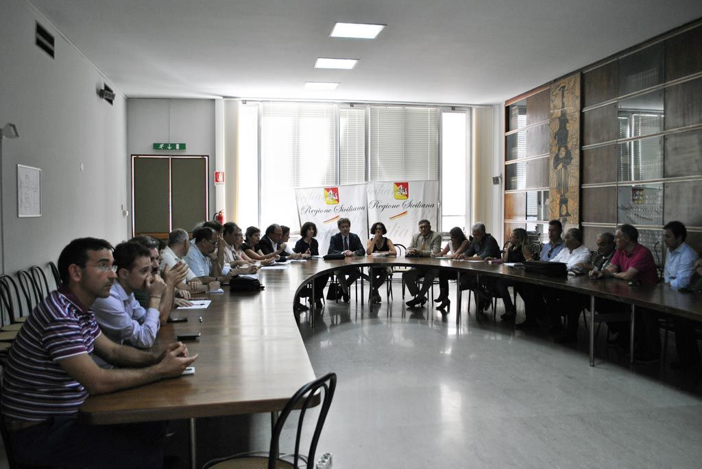 Meeting with the Ministry of Economic Development (MISE), 28/07/2014 Catania