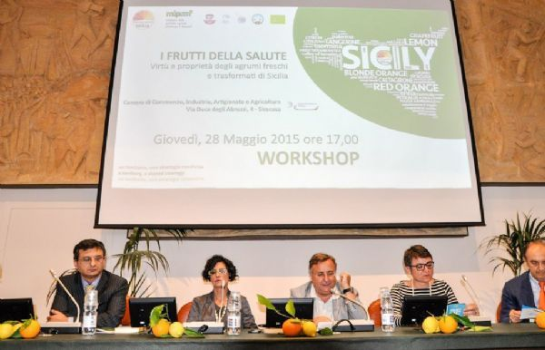 Citrus fruits and health - Workshop in Siracusa - Health's fruits