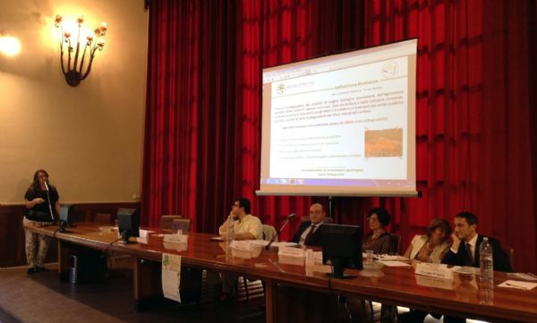 Un intervento durante il workshop